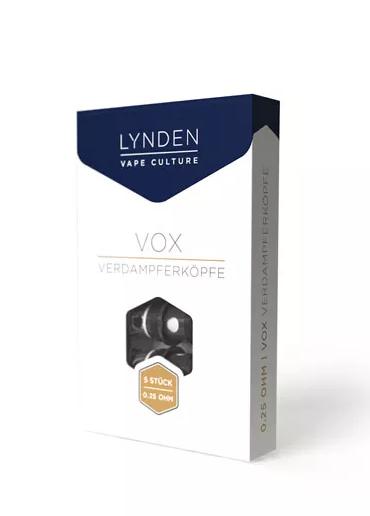 Lynden Vox Coils 0,25Ohm 5er Pack
