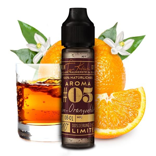 Tom Klark's Natürliche Aromen Winter Edition - No. 05 Rum-Orangenblüte 10 ml