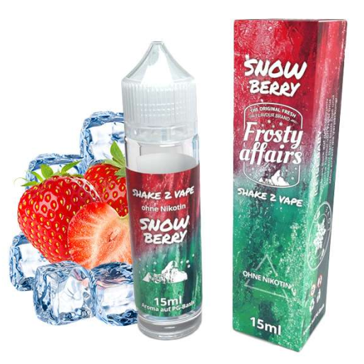 Frosty Affairs - Snowberry Longfill Aroma 15 ml