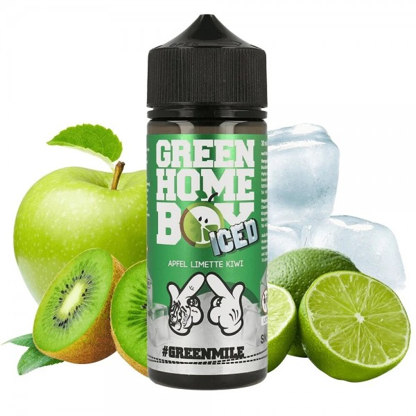 #Ganggang - Green Homeboy Iced Limited Edition Longfill Aroma 30 ml