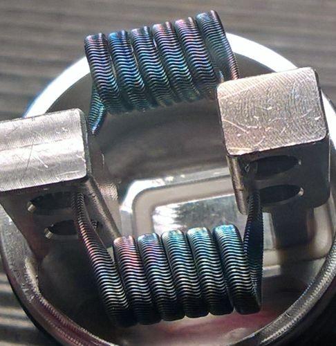 SK-Coils - Triple Core Aliens 0,18 Ohm dual, 3mm, 3*28Ga+38Ga Ni80