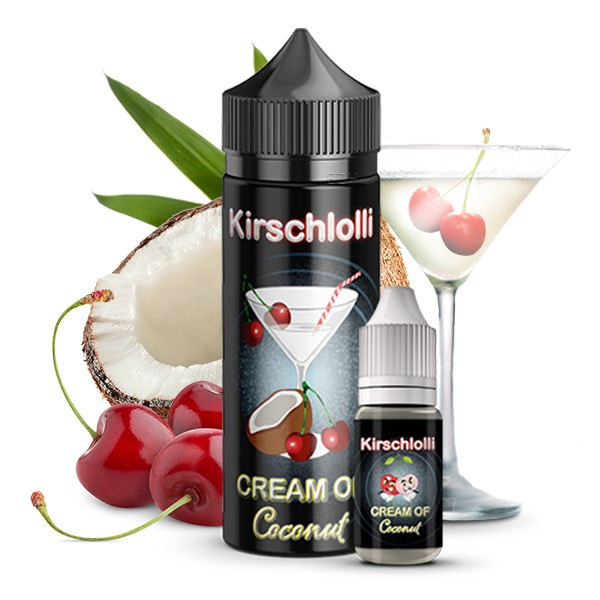 Kirschlolli - Cream of Coconut Longfill Aroma 10 ml